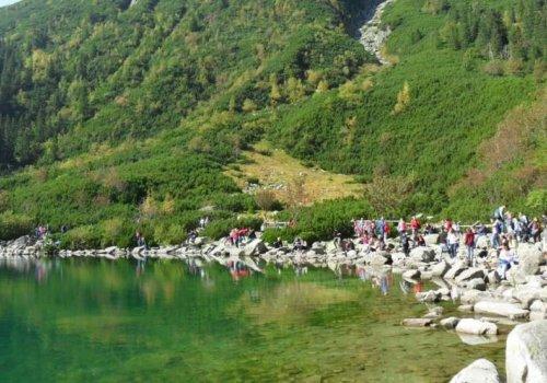 Morskie Oko największe jezioro w okolicach Zakopanego